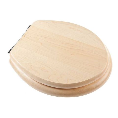 Maple Effect Toilet Seat